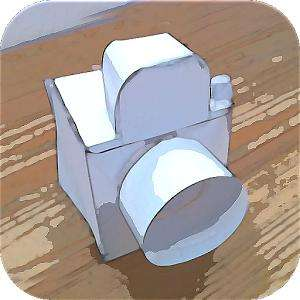 Application Paper Camera sur Android