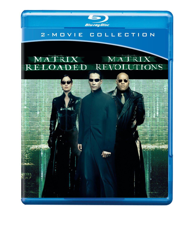Blu-ray Matrix Reloaded & Matrix Revolutions