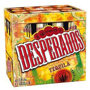 2 packs de bière Desperados 12x 33cl