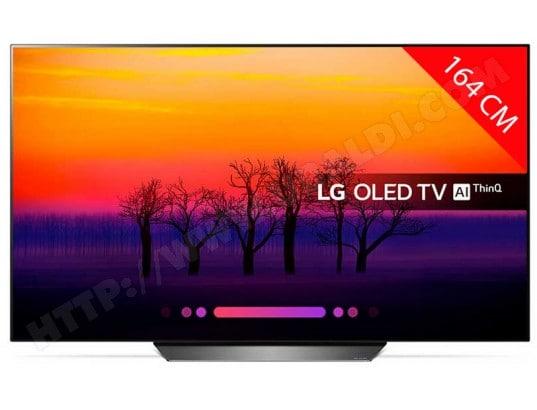 "TV OLED 65"" LG OLED65B8 (2018) - 4K UHD, HDR, Dolby Vision, Smart TV"