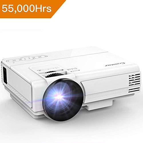 Mini-vidéoprojecteur Crosstour - 2000 lumens, LED (vendeur tiers)