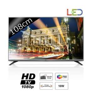 "TV 43"" LG 43LF5400 LED Full HD 300Hz 108cm (avec ODR 50€)"