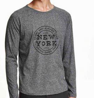 H&M - T-shirt à manches longues (5 coloris disponibles)