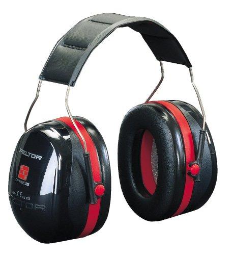 casque antibruit 3m peltor optime iii att nuation 35 db noir et rouge. Black Bedroom Furniture Sets. Home Design Ideas