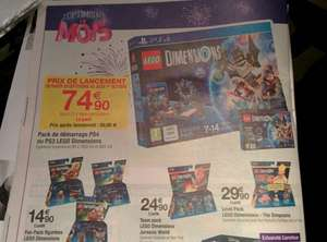 Pack démarrage Lego Dimensions Xbox One, Xbox 360, PS4, PS3 ou Wii U