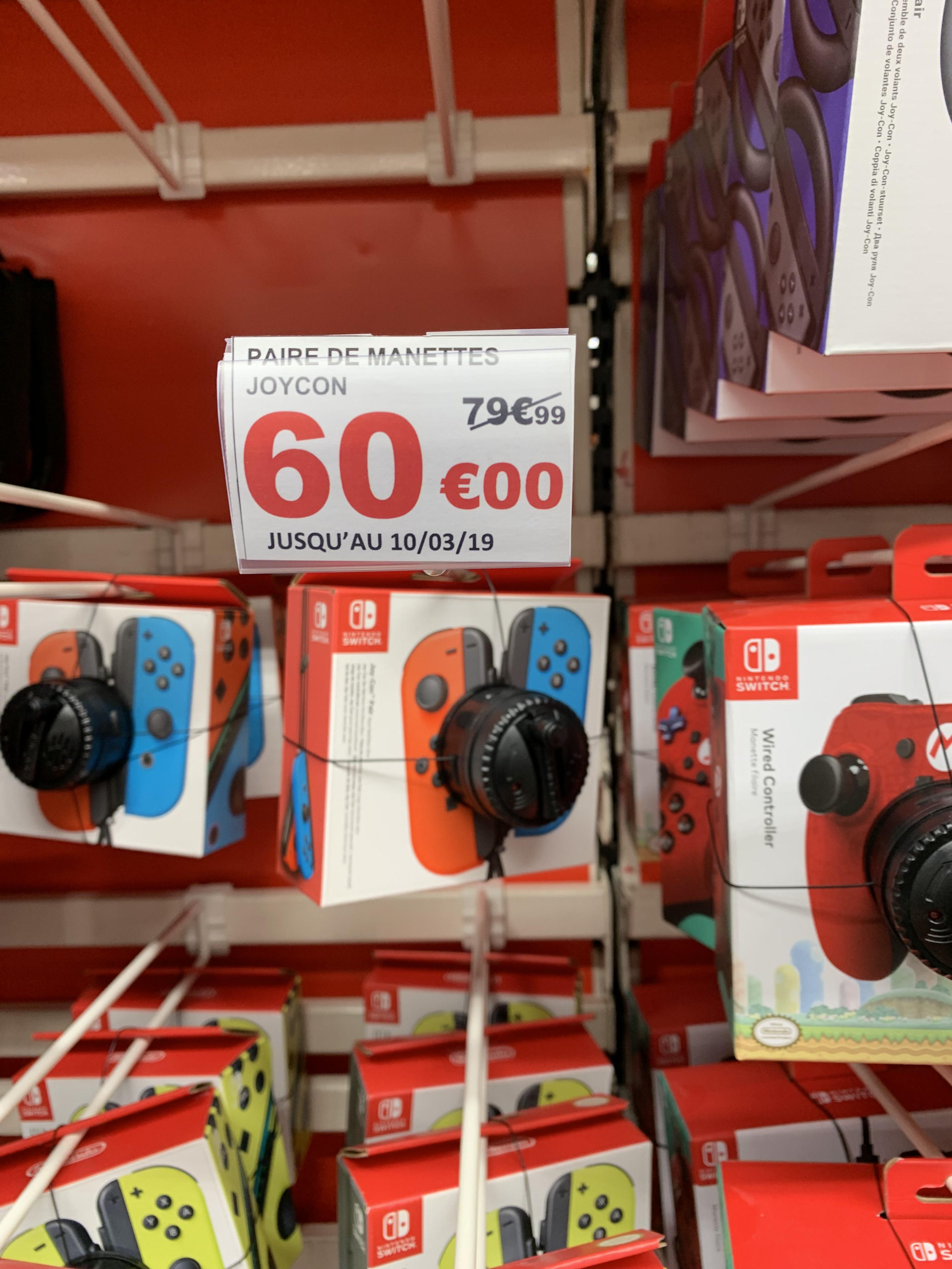 Paire Joycon Neon - Auchan Velizy (78)