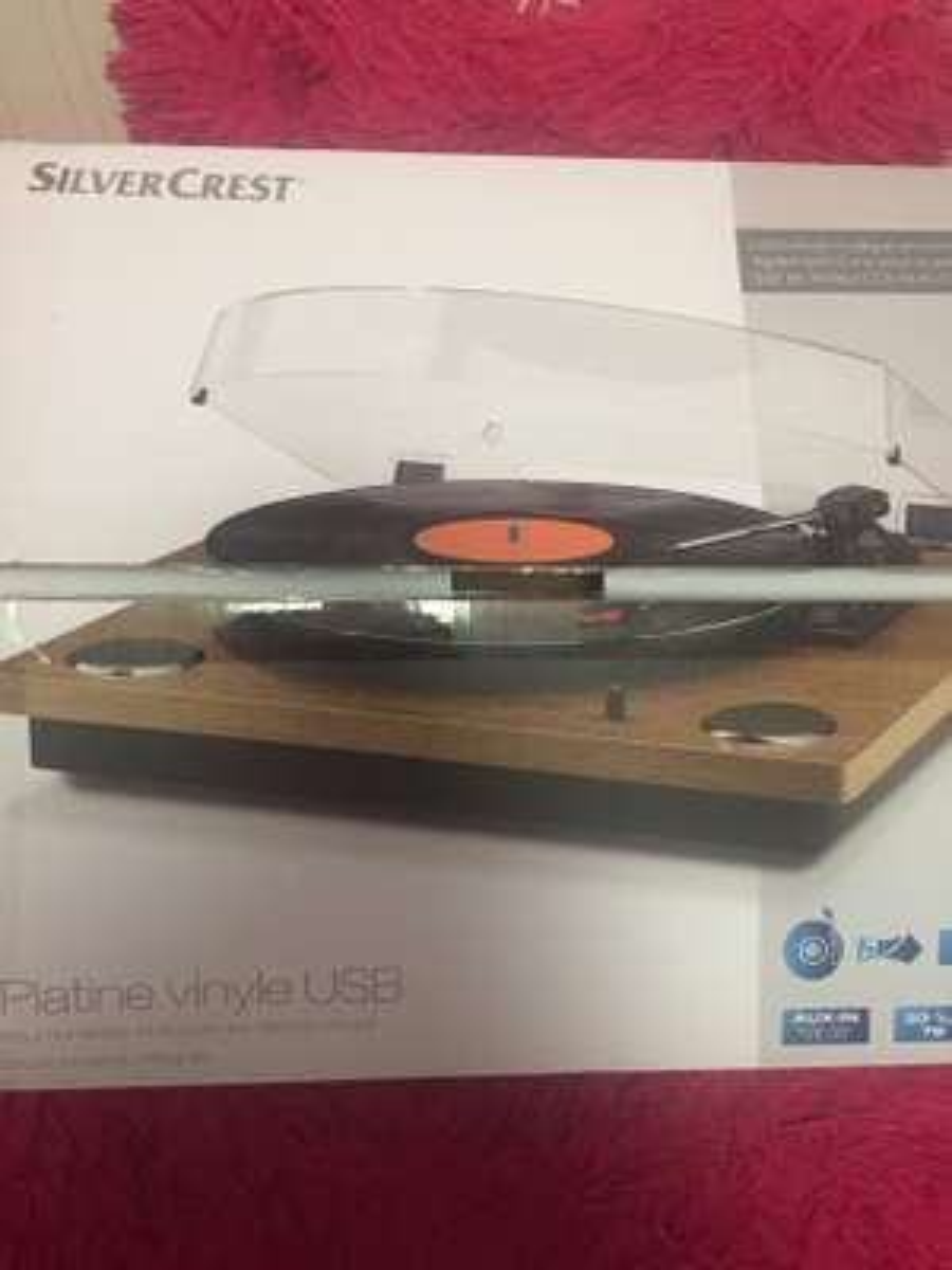 Platine Vinyle usb Silvercrest - Lidl st martin d'heres (38)