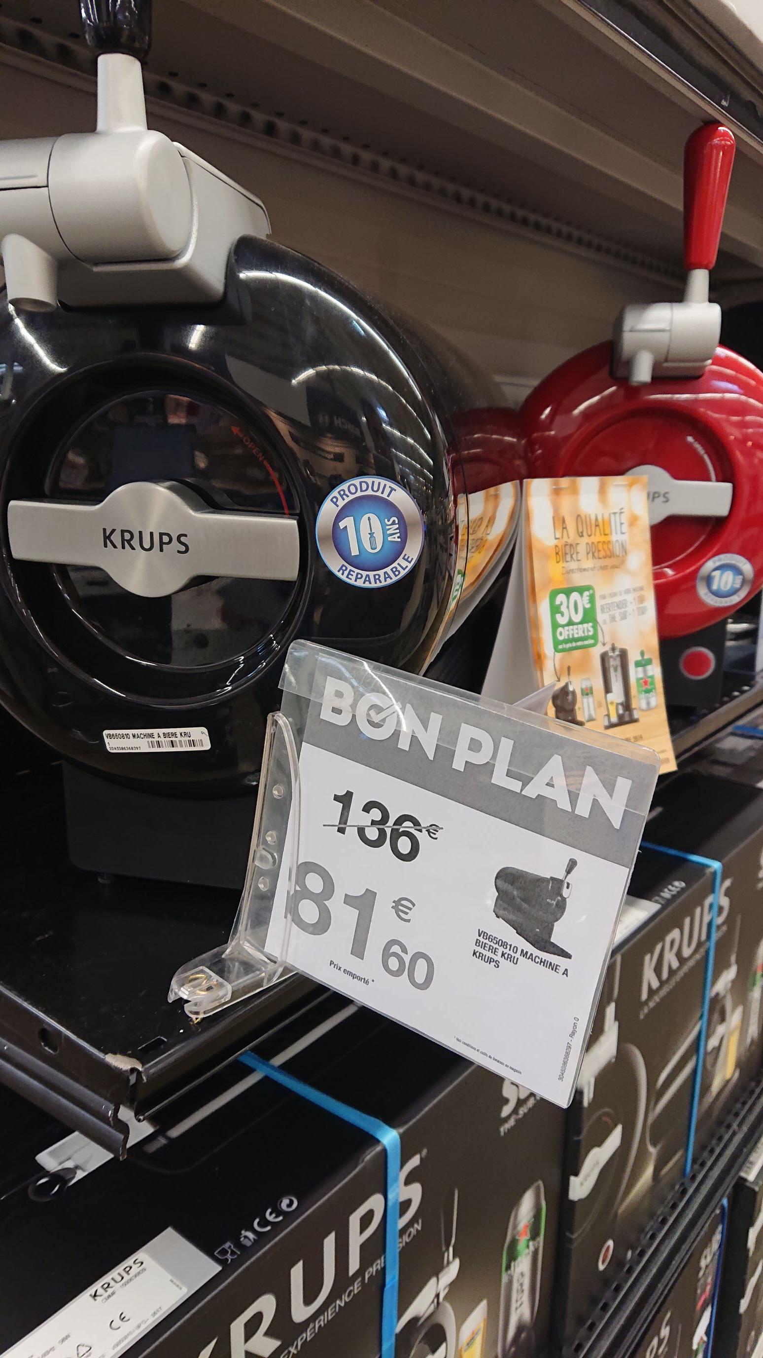 Tireuse à bière Krups The Sub (via ODR 30€) - Labège (31)