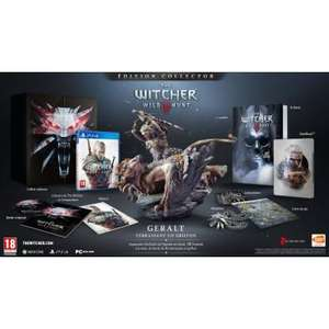 Jeu The Witcher 3 sur PS4 - Edition Collector + Steelbook + Tshirt