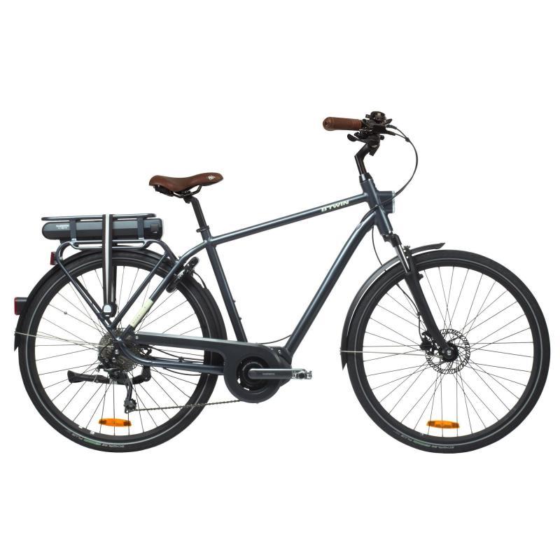 Vélo de ville électrique Elops 940 - 250W Cadre haut B'twin (Taille au choix)