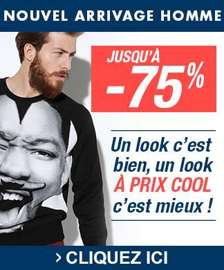 jusqu'à 80% de réduction sur une sélection d'articles - Ex :  Jeans Gstar  Noir à 35euros (Bleu ou noir enduit)
