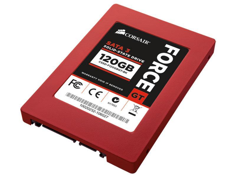 Disque SSD reconditionné - Corsair - Force series GT - 120 GO / Avec paiement via Buyster
