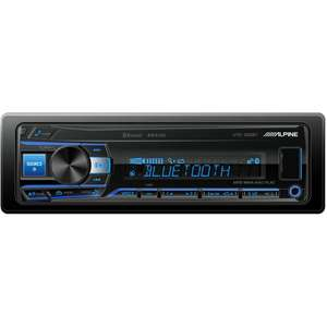 autoradio alpine ute 200bt bluetooth noir. Black Bedroom Furniture Sets. Home Design Ideas