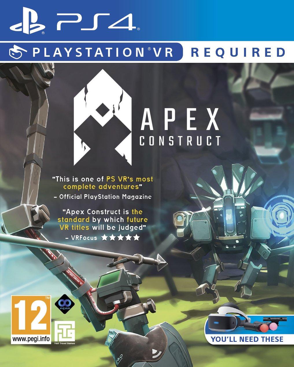 Jeu VR Apex Construct sur PS4