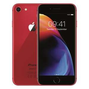 "Smartphone 4.7"" Apple iPhone 8 - 64 Go, Rouge (Reconditionné grade Shiny)"