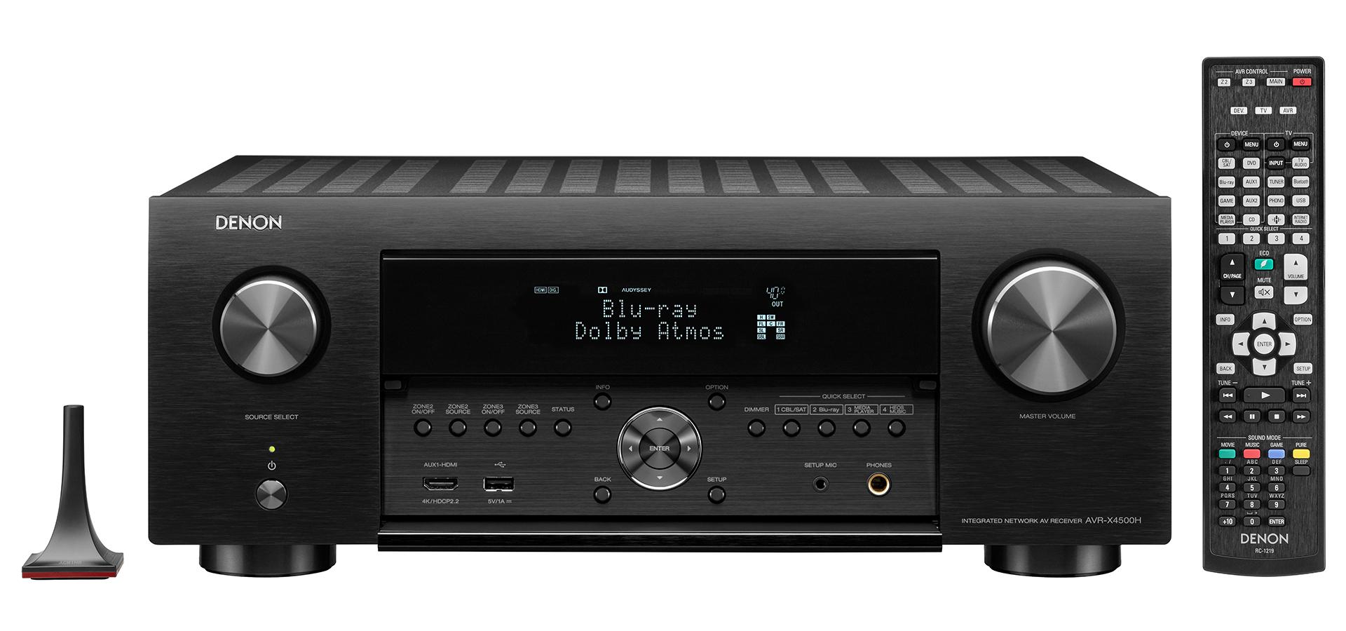 Amplificateurs home cinéma Denon AVR-X4500H (doublepoint.nl)