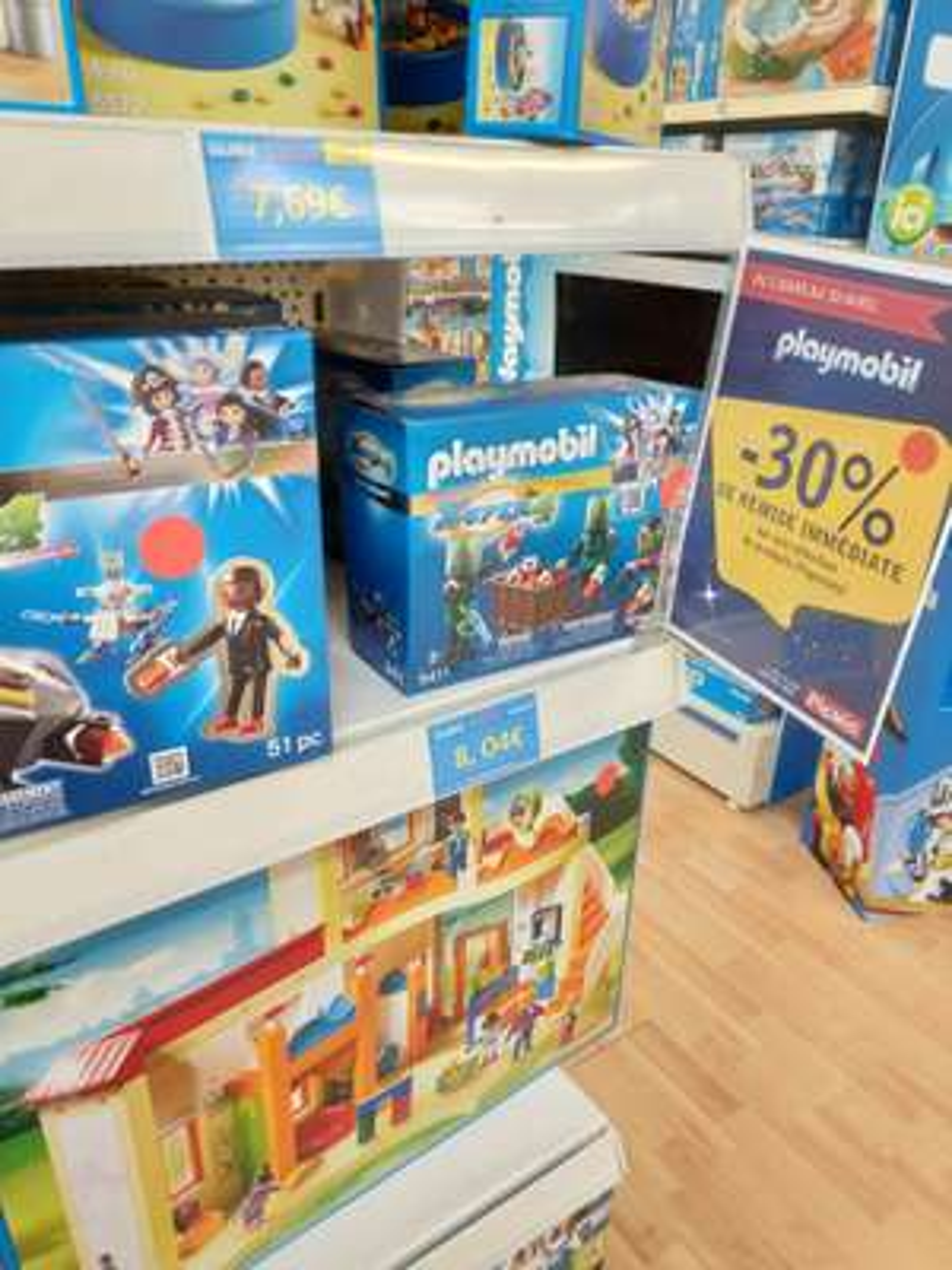30% de réduction sur une sélection de jouets Playmobil - Orvault (44)