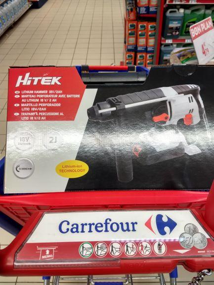 Marteau Perforateur sans fil  Hitek (batterie lithium 18v 2ah) - Chambourcy (78)