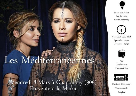 Place pour le Concert Chimene Badi et Julie Zenatti du 08/03 à Chaponnay (69)