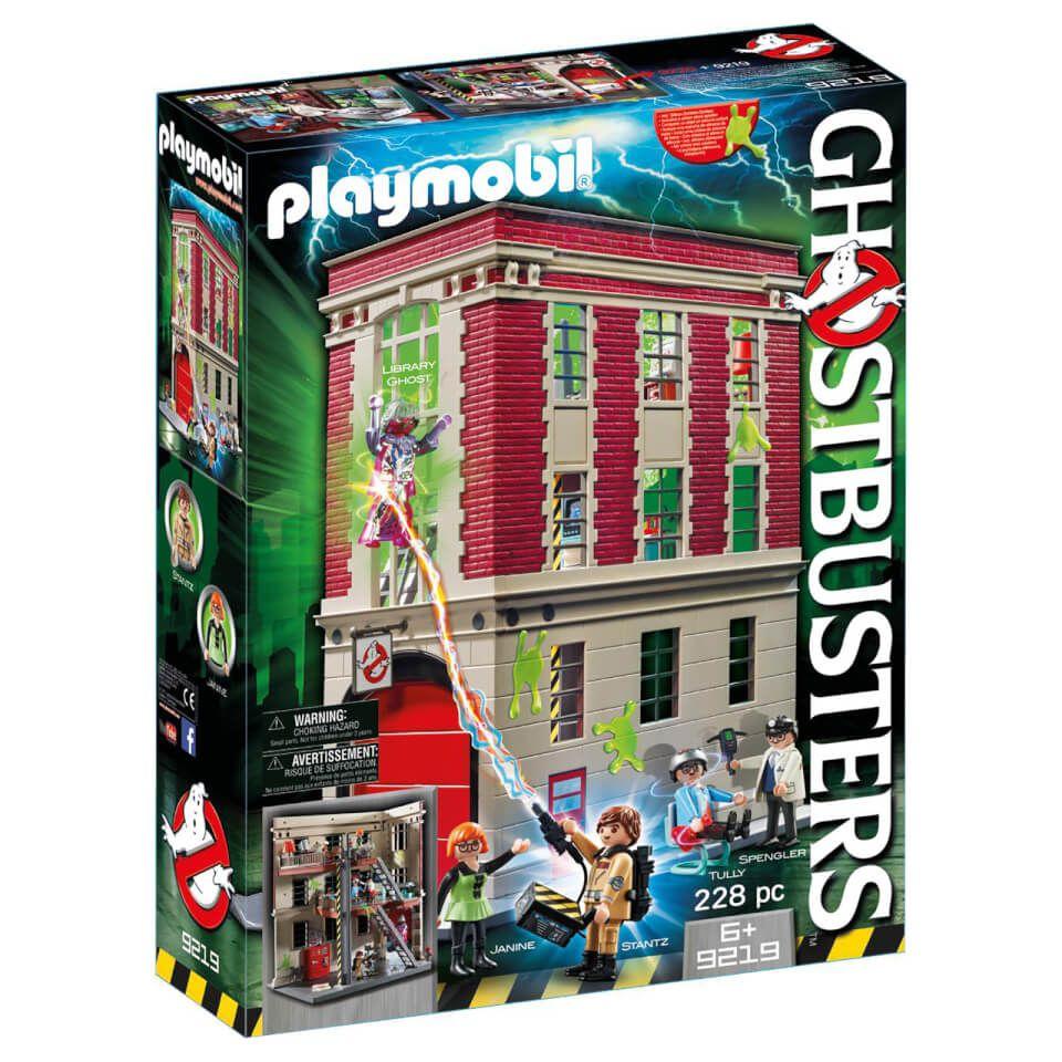 Playmobil Ghostbusters Edition Limitée - Quartier Général Ghostbusters (9219)