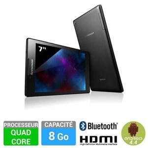 """Tablette 7"""" Lenovo IdeaTab 2 A7-10 8 Go - Noire (avec ODR 30€)"""