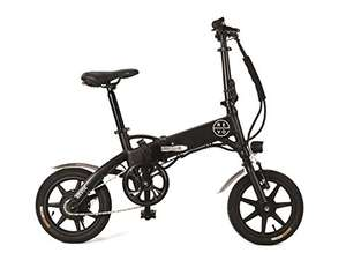Vélo a assistance electrique pliant 14' Revoe Urban - Mixte Adulte, Noir, unique