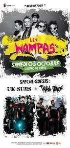 Billet Concert Les Wampas / UK Subs / Tagada Jones au Casino de Paris