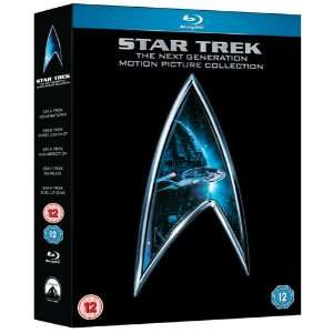 Coffret Blu-ray Star Trek The Next Generation Movie Collection [Import anglais]