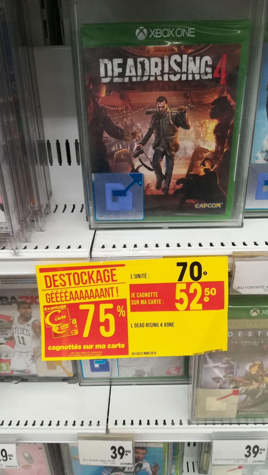 Jeu Deadrising 4 sur Xbox One (via 52.5€ fidélité) - Géant Casino exincourt (25)