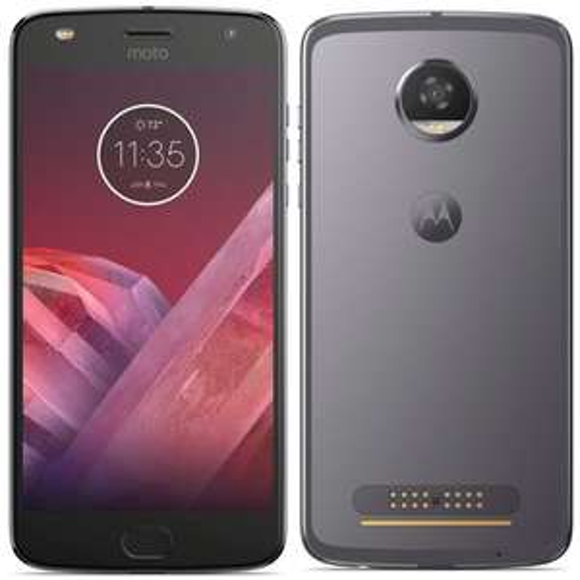 "Smartphone 5.5"" Motorola Moto Z2 Play - Full HD, Snapdragon 626, RAM 4 Go, ROM 64 Go (Gris)"
