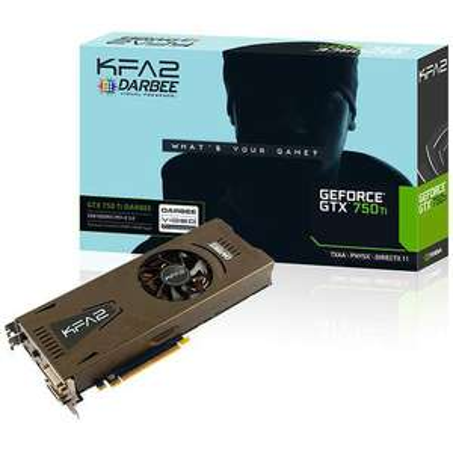 carte graphique KFA2 GeForce GTX 750 Ti 2 Go - Darbee Edition