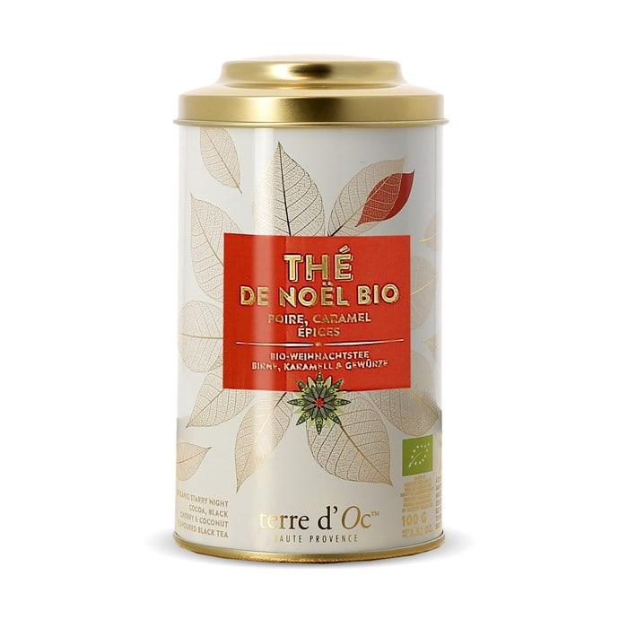 Boite de Thé de Noël BIO - 100gr (frais de port inclus)