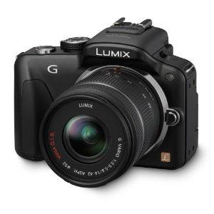 Kit compact Panasonic Lumix DMC-G3KEG-K hybride + Objectif 14-42 mm 16 Mpix noir rouge ou marron