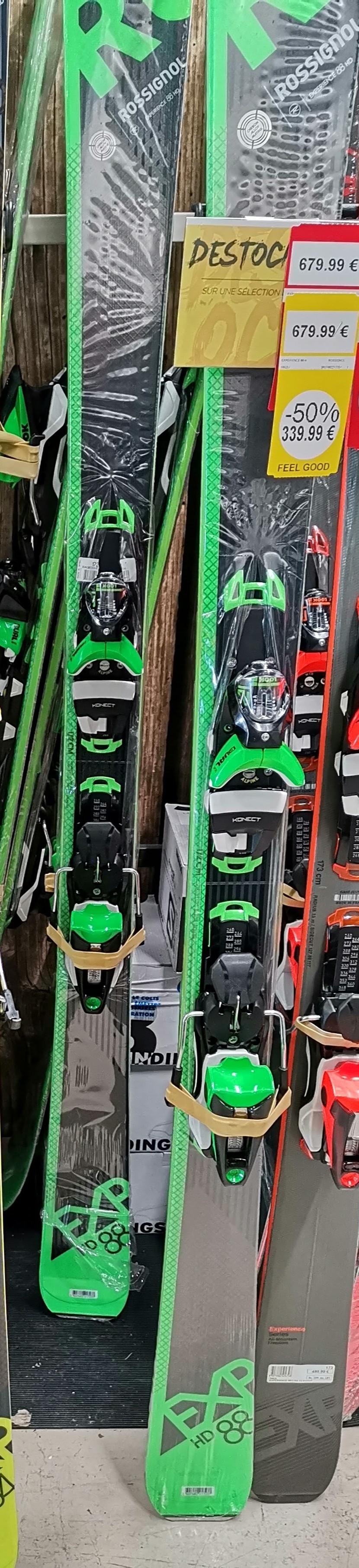 Paire de Skis Rossignol Exp 88 - Échirolles Comboire (38)