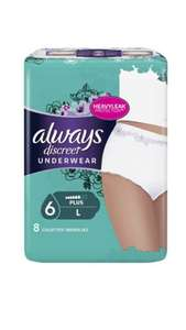 Culottes hygiéniques Always Discreet Underwear (via Shopmium + Coupon Network + BDR) - St Brice Courcelles (51)