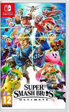 Sélection de jeux Nintendo Switch en promotion - Ex : Jeu Super Smash Bros Ultimate (via 10€ fidélité) - Carrefour Les Sept Chemins (69)