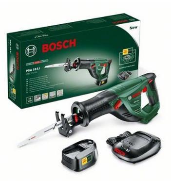 """Scie sabre sans fil """"Universal"""" Bosch PSA 18 LI + 1 lame de scie, batterie et chargeur"""