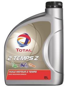 Huile moteur motoculture 2 temps et 4 temps - Total Tz - 2L