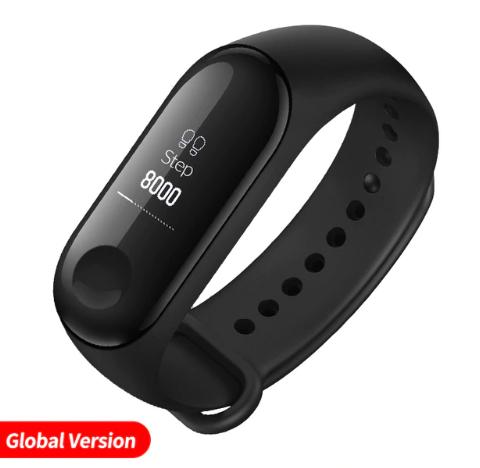 Bracelet connecté Xiaomi Mi Band 3 (19.60€ avec le code SHOPNEW)