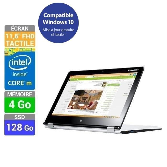 "PC portable tactile 11"" Lenovo Yoga 3 11 (Intel Core M 5Y10C, 4 Go Ram, 128 Go SSD)"