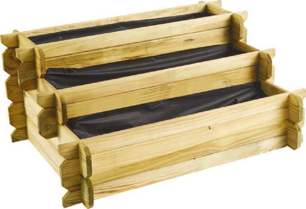 carr potager en escalier angelic 3 tages 80 x 60 x 36. Black Bedroom Furniture Sets. Home Design Ideas