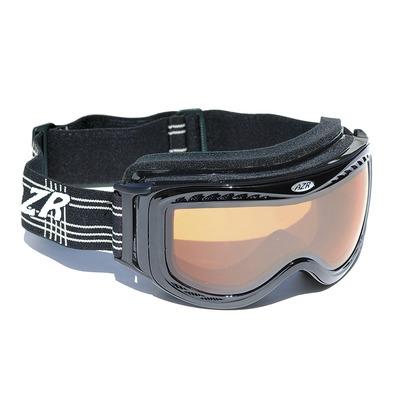 Masque de Ski inter OTG Noir/Gris miroir + Orange flash