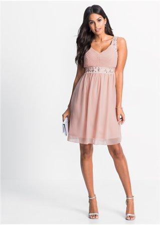Robe de soirée rose vintage - Différentes tailles
