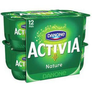 Lot de 12 pots Activia Nature gratuit (avec 1.56€ sur la carte)