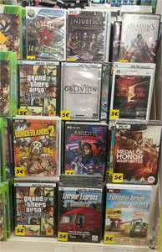 Sélection de jeux PC (GTA San Andreas, Borderlands 2, Medal of Honor War Fighter...)
