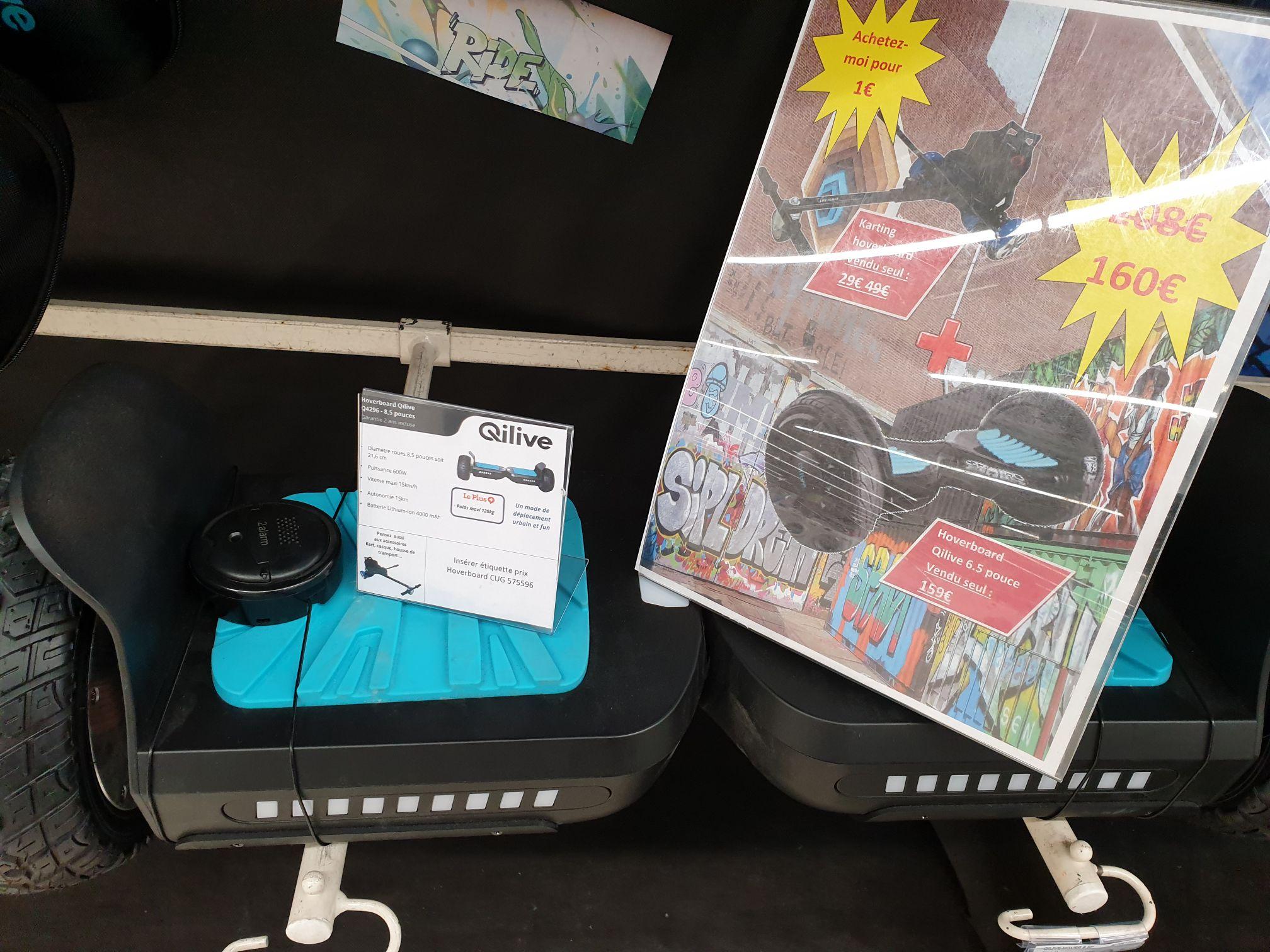 Hoverboard Qilive + Kit Kart pour hoverboard - Bagnolet (75)