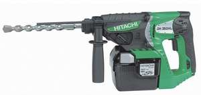 Perforateur burineur Hitachi DH 36DAL SDS-Plus sans-fil 36V Li-Ion 2.8J avec 2 batteries 2.6Ah