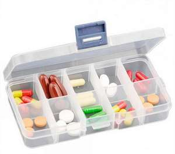 Boîte de rangement (idéal loisirs créatifs ou médicaments) via l'application