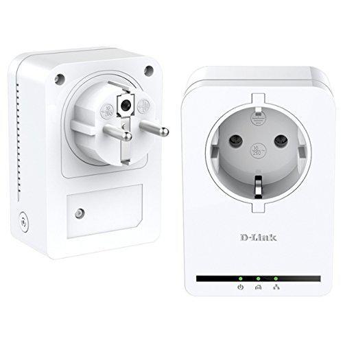 Pack de 2 CPL 200Mbps D-Link DHP-P309AV avec prise intégrée