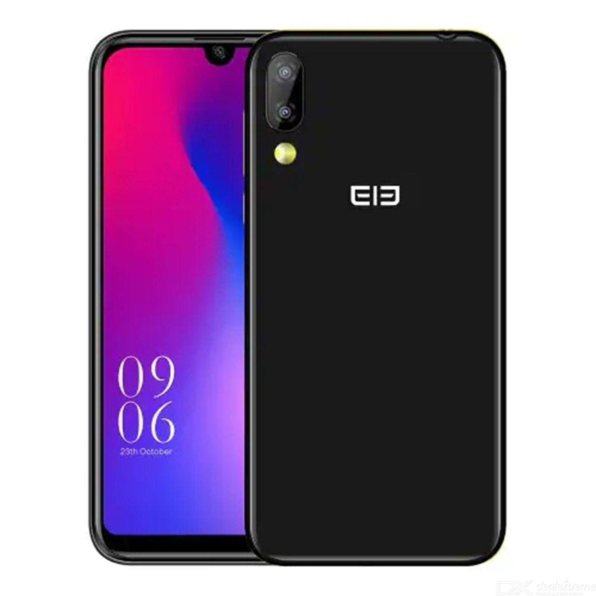 "[Pré-commande] Smartphone 5.71"" Elephone A6 Mini - double-SIM, HD+, Helio A22, 4 Go de RAM, 32 Go, Android 9.0, 4G (B20), bleu ou noir"
